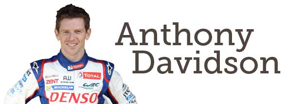 Anthony Davidson Racing Car Driver